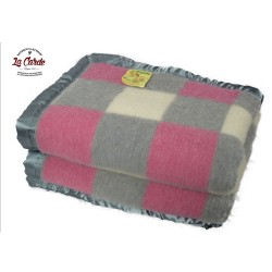 Couverture 750g - Gris rose