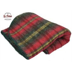 Plaid en laine - écossais...