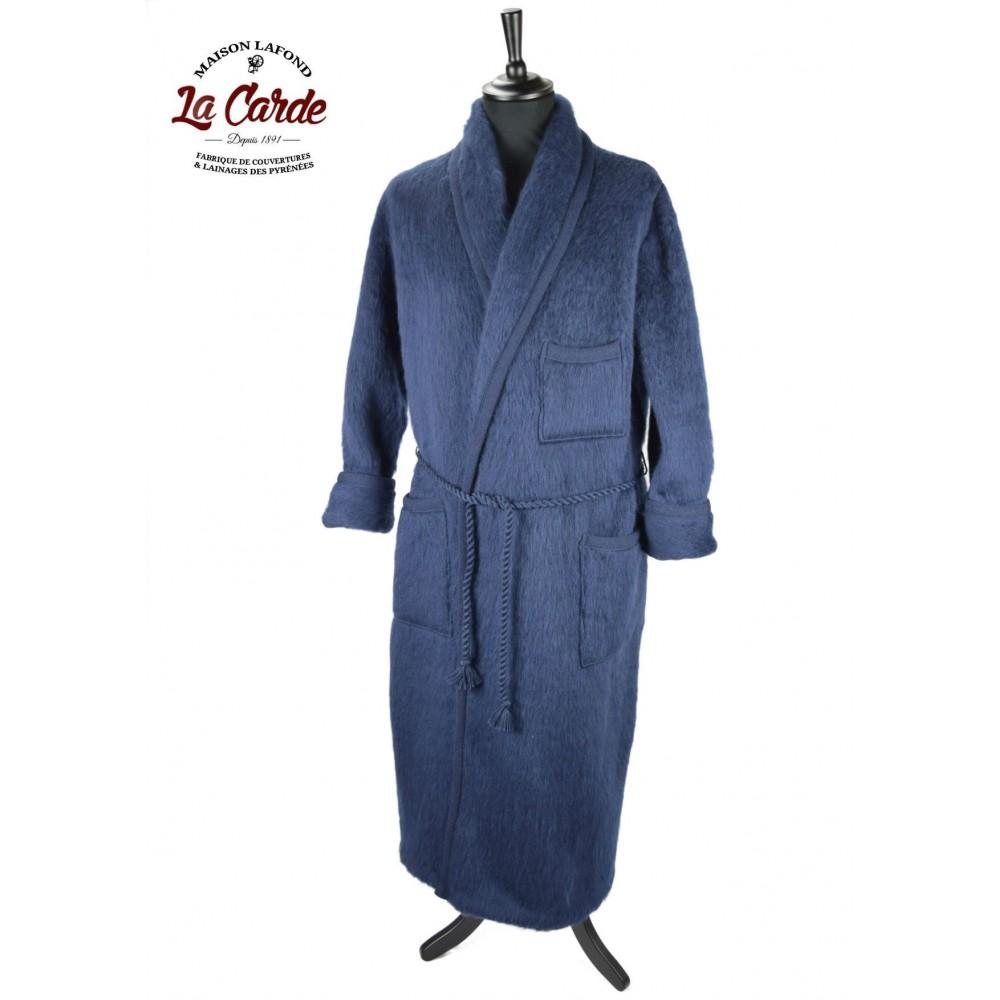 Robe De Chambre Homme La Carde Laine Des Pyrenees
