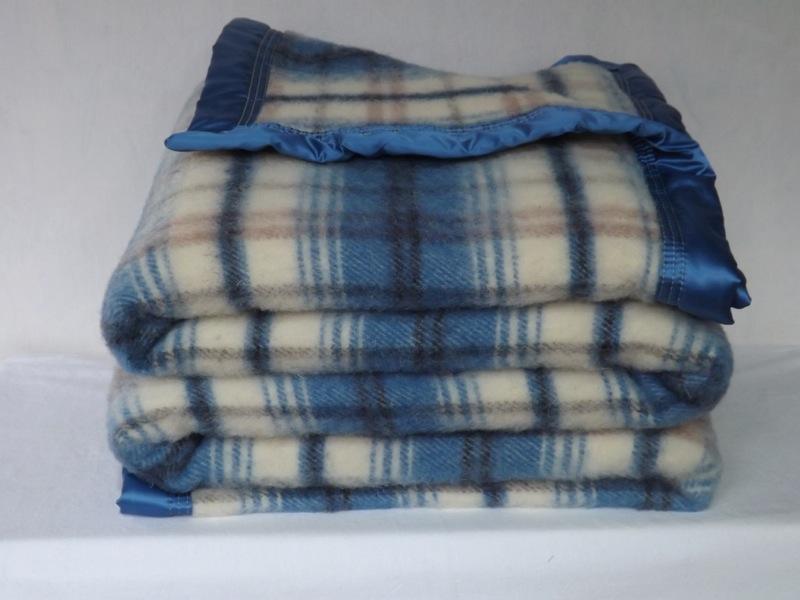 Couverture en laine écossaise